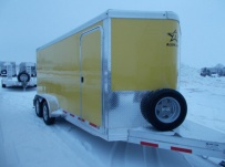 Bumper Pull Enclosed Cargo Trailers - BPDF 104A