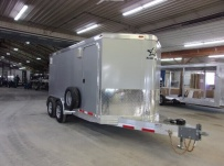 Bumper Pull Enclosed Cargo Trailers - BPDF 106A