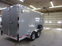 Bumper Pull Enclosed Cargo Trailers - BPDF 106B