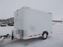Bumper Pull Enclosed Cargo Trailers - BPDF 107A