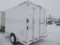 Bumper Pull Enclosed Cargo Trailers - BPDF 107B