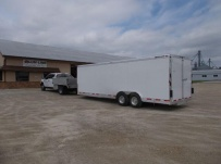Bumper Pull Enclosed Cargo Trailers - BPDF 108