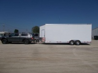 Bumper Pull Enclosed Cargo Trailers - BPDF 109B