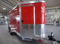 Bumper Pull Enclosed Cargo Trailers - BPDF 110A