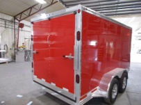 Bumper Pull Enclosed Cargo Trailers - BPDF 110B