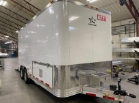 Bumper Pull Enclosed Cargo Trailers - BPDF 115A