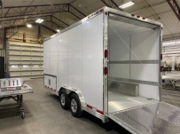 Bumper Pull Enclosed Cargo Trailers - BPDF 115B