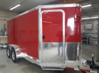 Bumper Pull Enclosed Cargo Trailers - BPDF 116