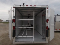 Bumper Pull Enclosed Cargo Trailers - BPDF 90A