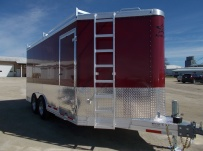 Bumper Pull Enclosed Cargo Trailers - BPDF 91B