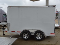 Bumper Pull Enclosed Cargo Trailers - BPDF 92A