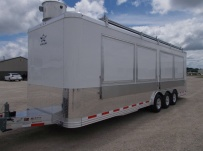 Bumper Pull Enclosed Cargo Trailers - BPDF 97A