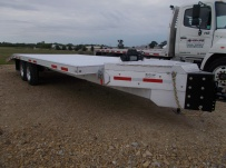 Bumper Pull Heavy Equipment Flatbed Trailers - BPF 41C