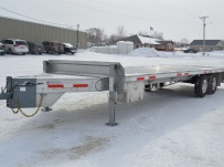 Bumper Pull Heavy Equipment Flatbed Trailers - BPF 42