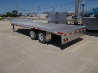 Bumper Pull Heavy Equipment Flatbed Trailers - BPF 44B