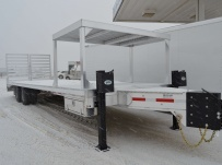 Bumper Pull Heavy Equipment Flatbed Trailers - BPF 50