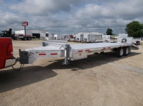 Bumper Pull Heavy Equipment Flatbed Trailers - BPF 52A