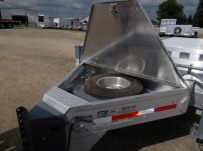 Bumper Pull Heavy Equipment Flatbed Trailers - BPF 52C