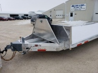 Bumper Pull Heavy Equipment Flatbed Trailers - BPF 54A