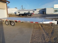Bumper Pull Heavy Equipment Flatbed Trailers - BPF 57A