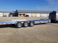 Bumper Pull Heavy Equipment Flatbed Trailers - BPF 60A