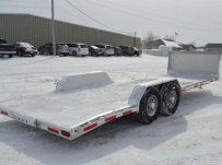 Bumper Pull Open Automotive Aluminum Trailers - BPOC 29B