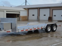 Bumper Pull Open Automotive Aluminum Trailers - BPOC 30