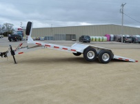 Bumper Pull Open Automotive Aluminum Trailers - BPOC 31A