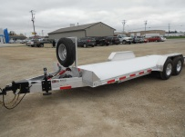 Bumper Pull Open Automotive Aluminum Trailers - BPOC 31B
