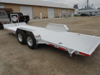 Bumper Pull Open Automotive Aluminum Trailers - BPOC 31C