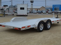 Bumper Pull Open Automotive Aluminum Trailers - BPOC 32A