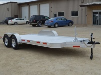 Bumper Pull Open Automotive Aluminum Trailers - BPOC 32B