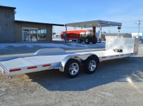 Bumper Pull Open Automotive Aluminum Trailers - BPOC 34