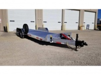 Bumper Pull Open Automotive Aluminum Trailers - BPOC 38A