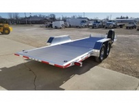 Bumper Pull Open Automotive Aluminum Trailers - BPOC 38B