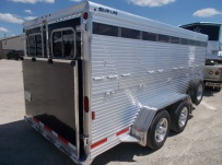 Showmaster Full Height Small Livestock Trailers - BPSM 40