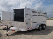 Showmaster Full Height Small Livestock Trailers - BPSM 43A