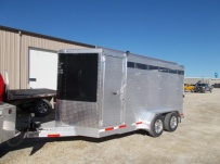Showmaster Full Height Small Livestock Trailers - BPSM 43B