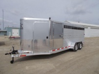 Showmaster Full Height Small Livestock Trailers - BPSM 45A