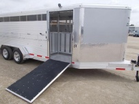 Showmaster Full Height Small Livestock Trailers - BPSM 45B