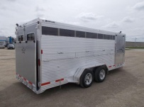 Showmaster Full Height Small Livestock Trailers - BPSM 45D