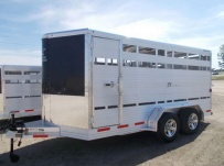Showmaster Full Height Small Livestock Trailers - BPSM 46A
