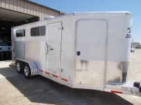 Showmaster Full Height Small Livestock Trailers - BPSM 48A