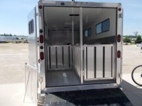 Showmaster Full Height Small Livestock Trailers - BPSM 48C