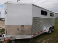 Showmaster Full Height Small Livestock Trailers - BPSM 49B