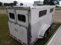Showmaster Full Height Small Livestock Trailers - BPSM 49C