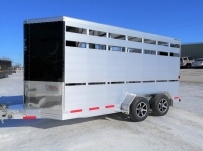 Showmaster Full Height Small Livestock Trailers - BPSM 50A