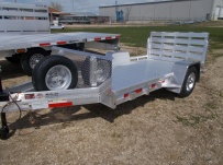 Open Utility Heavy Duty Utility Trailers - BPUC 55
