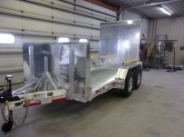 Open Utility Heavy Duty Utility Trailers - BPUC 72