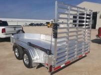 Open Utility Heavy Duty Utility Trailers - BPUC 80